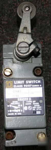 Square d - lever type limit switch class 9007 C54B2