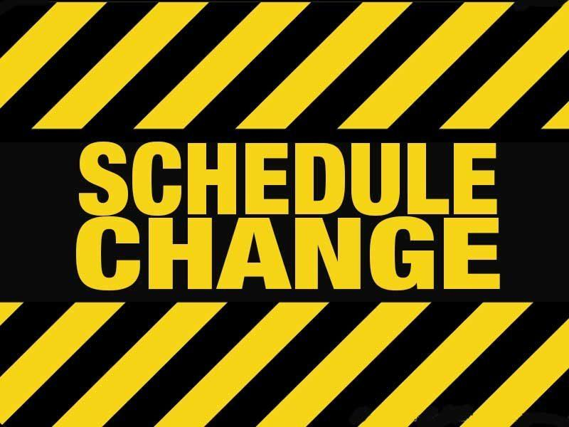 Schedule Change for September 8th  Bakersfield Speedway