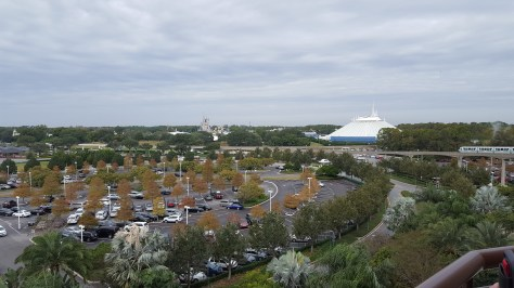 View of Magic Kingdom from room!!!