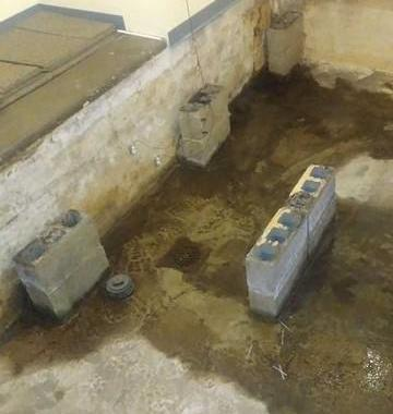 Church Basement and Elevator Waterproofed in Pittsburgh, PA