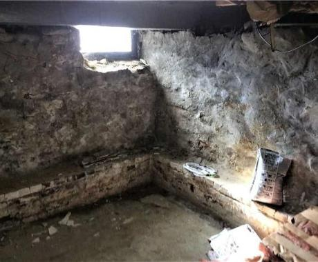 100-Year-Old Fieldstone Foundation Turns into Livable Home