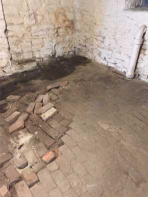 crumbling old foundation
