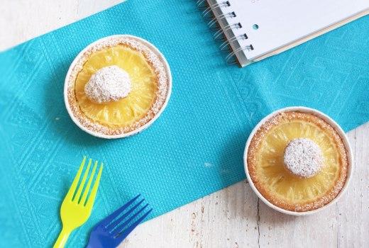 Tortine ananas e cocco