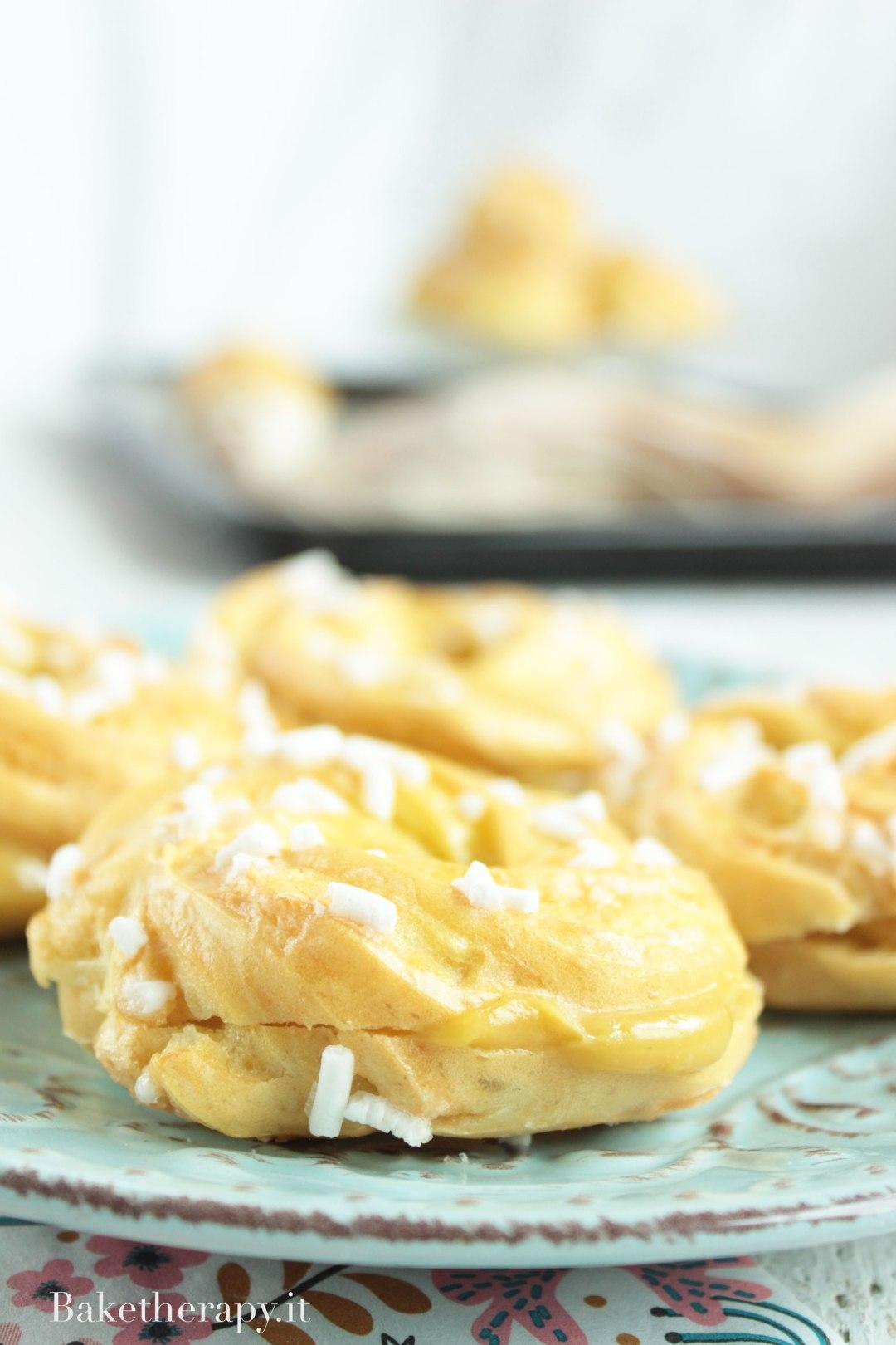 Pasta choux all'olio di oliva