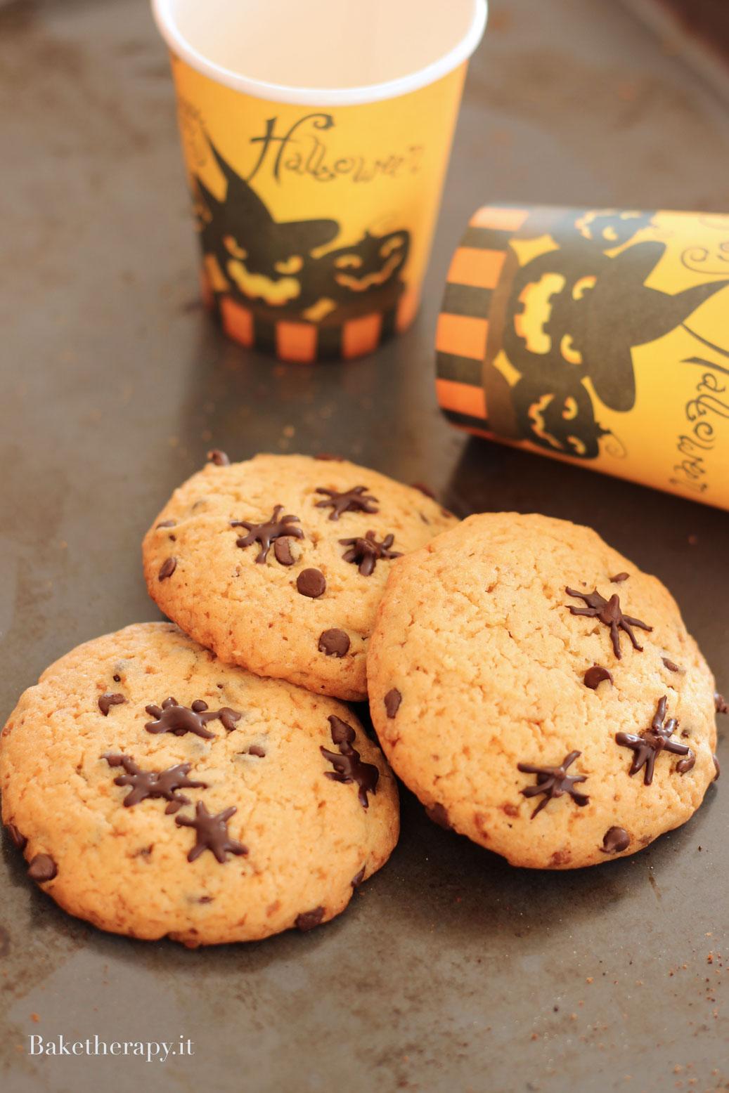 Halloween cookies senza burro