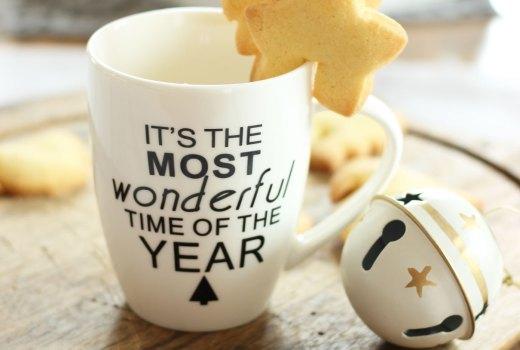 Biscotti da tazza per Natale