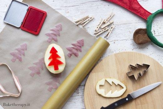 Carta da regalo decorata
