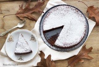Torta morbida con cioccolato e marroni