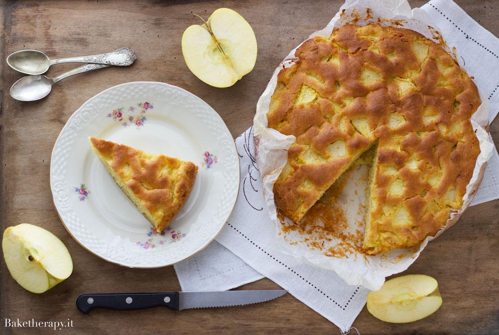 Torta alle mele senza burro