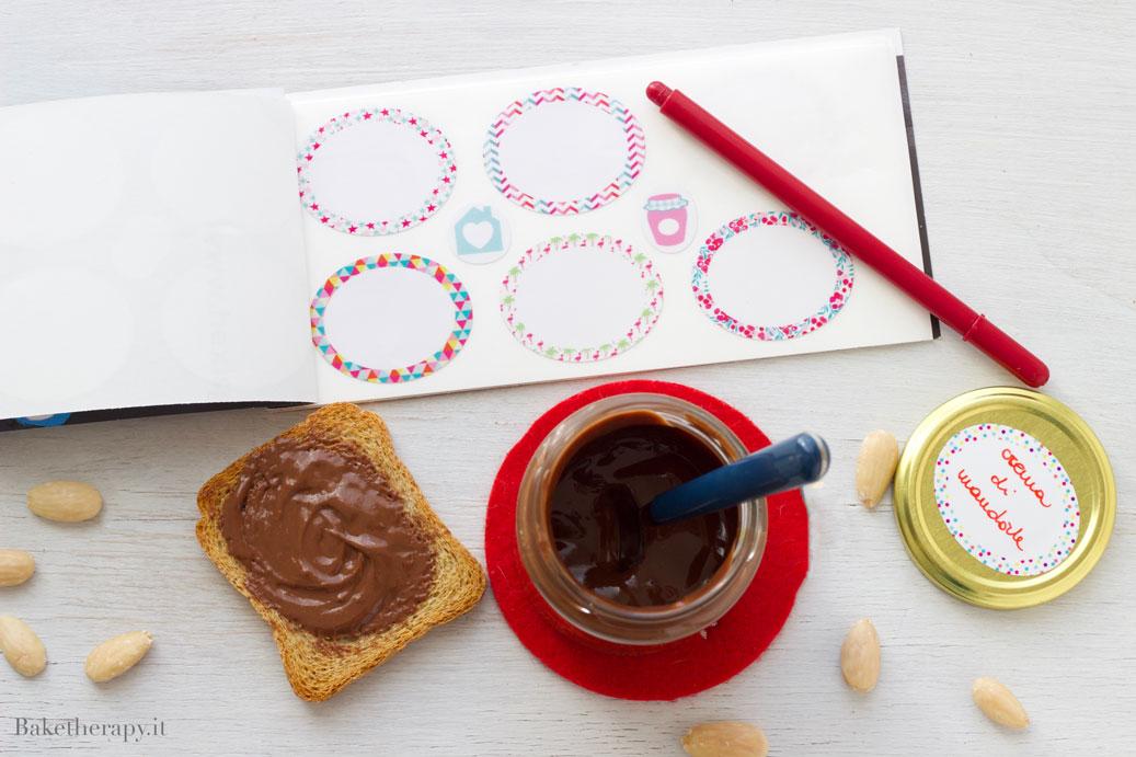 Crema alle mandorle e cioccolato