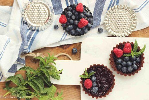 Crostatine alla frutta senza cottura