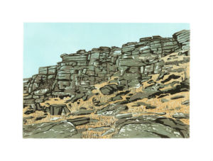 katherine rhodes Tower face stanage o