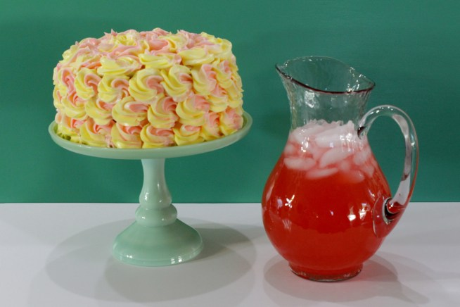 Pink Lemonade Cake Recipe and Tutorial - Bake with Rho