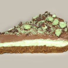 Gluten Free Mint Chocolate Cheesecake