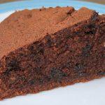 Choc Chip Chocolate Cake