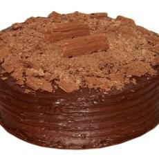 Chocolate Fudge Flake Cake