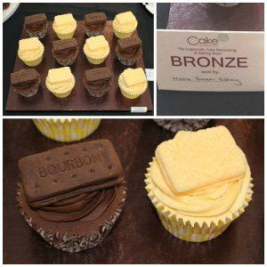 bronze cupcakes