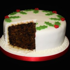 Gluten Free Amaretto Christmas Cake