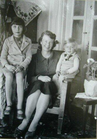 Soraya, Eva, Bijan in Isfahan 1940