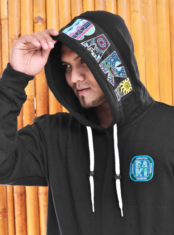 Bamboo lined Hoody by Baki Clothing Company