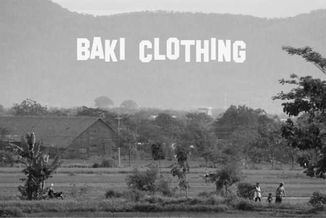 Central Java daily life by Baki Clothing Company