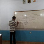 Teaching english on the Island of Sumba by Baki Clothing Company