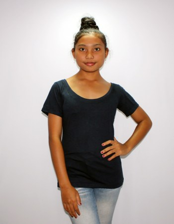 Bamboo Scoopneck Ladies T-shirt by Baki Clothing Company