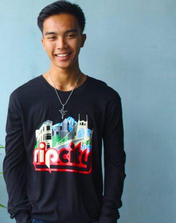 RIp City Bamboo Tee by Baki Clothing Company