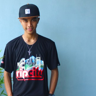 RIp City Bamboo Tee by Baki Clothing Company