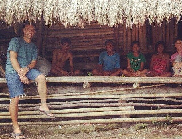 Peter Axelsen on Sumba Island, Indonesia
