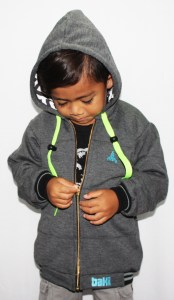Bamboo Kids Hoodie by Baki Clothing Clothing