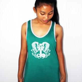 Ladies Racerback Singlet by Baki Clothing Company