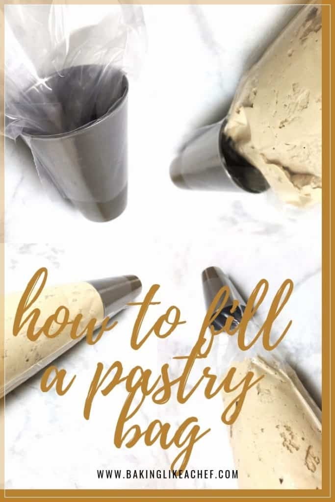 Tutorial of how to fill a pastry bag