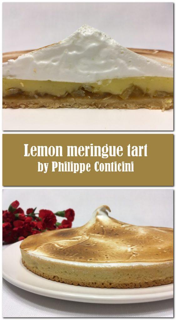Lemon meringue tart - Pin1