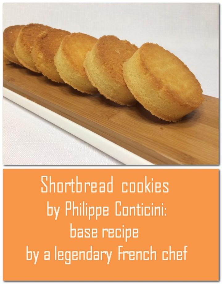 Shortbread cookies - Pin1
