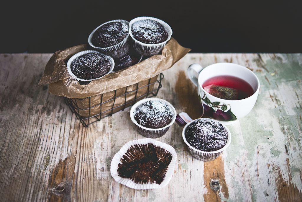 double chocolate buckwheat muffins-1-2