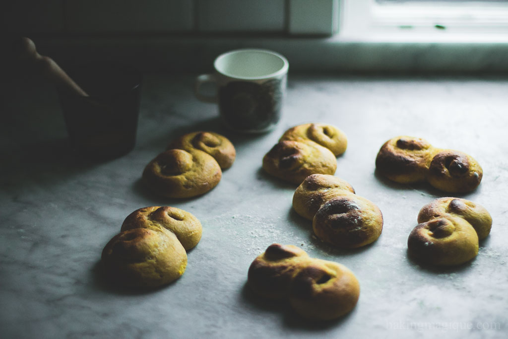 gluten free swedish saffron buns-10