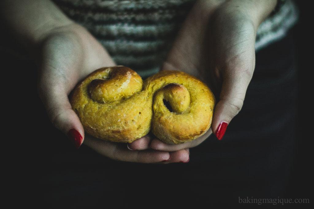 gluten free swedish saffron buns-3