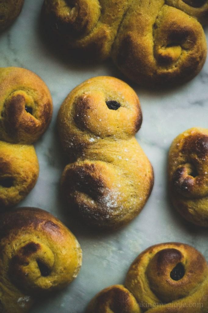 gluten free swedish saffron buns-5