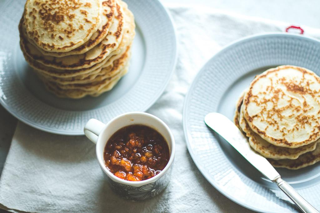 gluten free rice flour pancakes-10