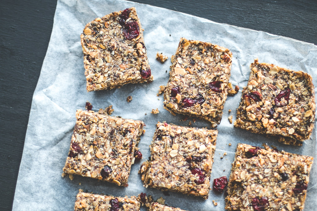 cranberry granola bars-2