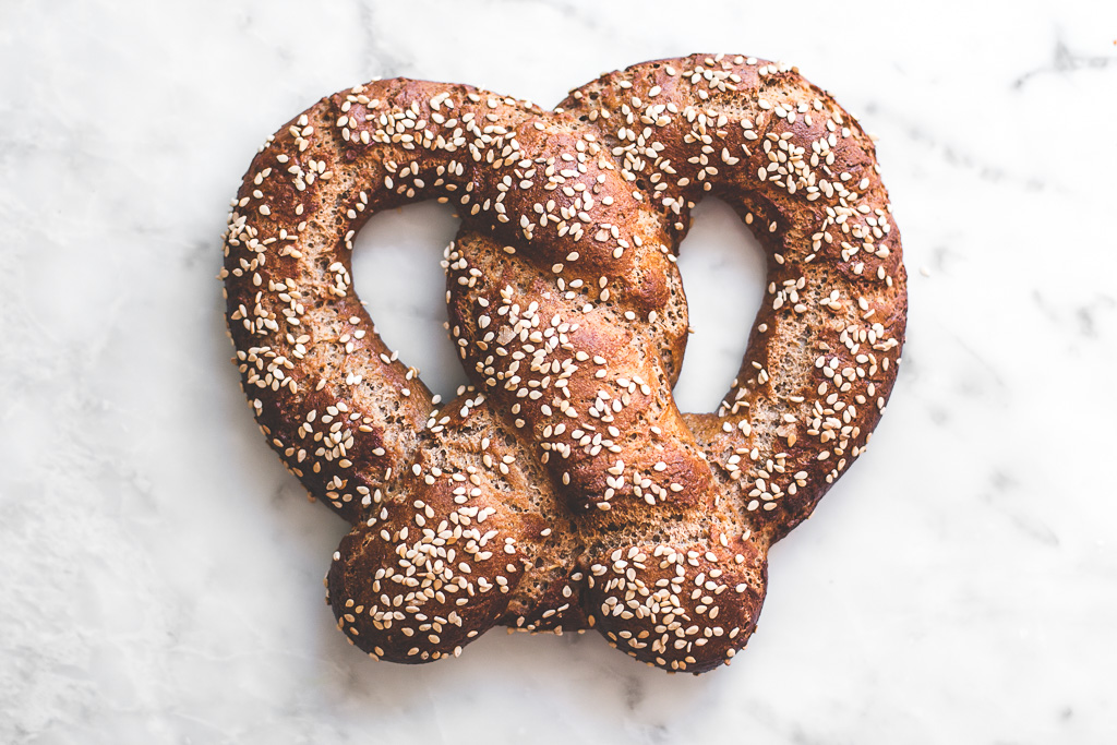 Single serving soft sprouted spelt pretzel-28