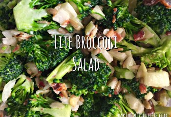 Lite Broccoli Salad