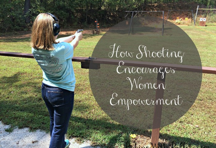 How Shooting Encourages Women Empowerment