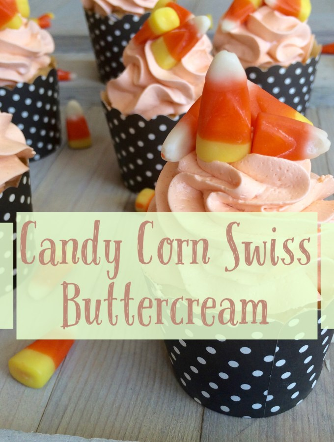 Candy Corn Swiss Buttercream