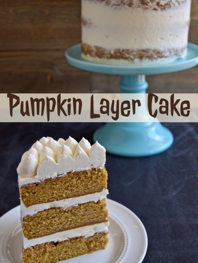 Dan's Pumpkin Layer Cake