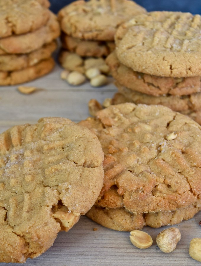 My Best Peanut Butter Cookies