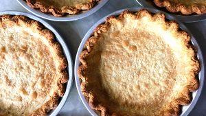 blind baked pie shells
