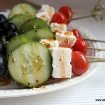 Griekse saladespiesjes
