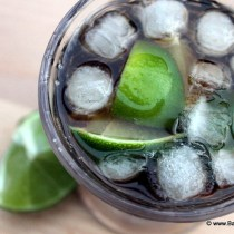 Recept Cuba Libre, Cuba Libre cocktail recipe, Rum coke,